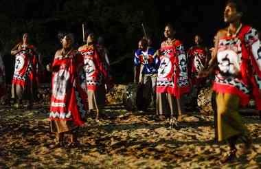 Traditional Swazi Dancing, Mlilwane Wildlife Sanctuary