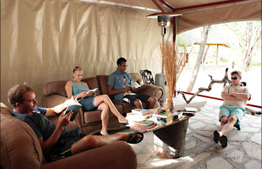 Fiume Bush Camp Lounge